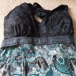 Athleta sheath dress with halter top..NWT!